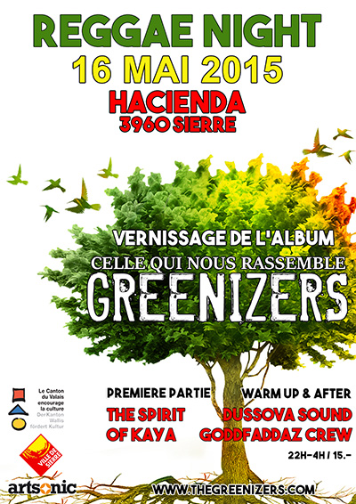 Vernissage Album Celle qui nous rassemble - Greenizers